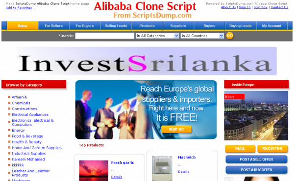 http://www.scriptsdump.com/view-item/21-Alibaba-Clone-Script-Best-B2B-Software.html website snapshot